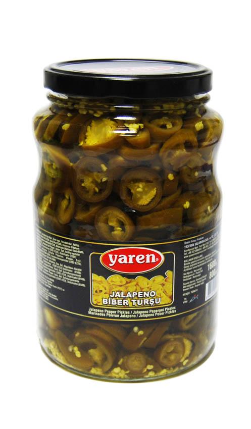 Jalapeno Peperoni Sauerkonserve - 1600g