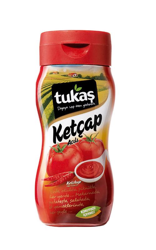 Tukas Ketchup scharf - 250gr