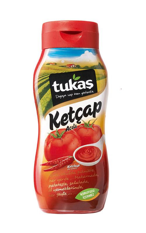 Tukas Ketchup scharf - 400gr