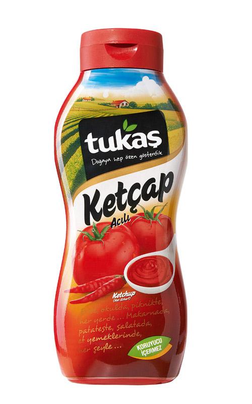 Tukas Ketchup scharf - 700gr