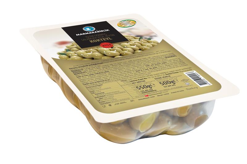 Grüne Oliven - 500g