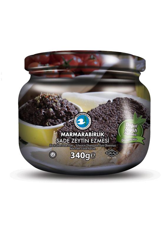 Schwarze Olivenpaste - 340g